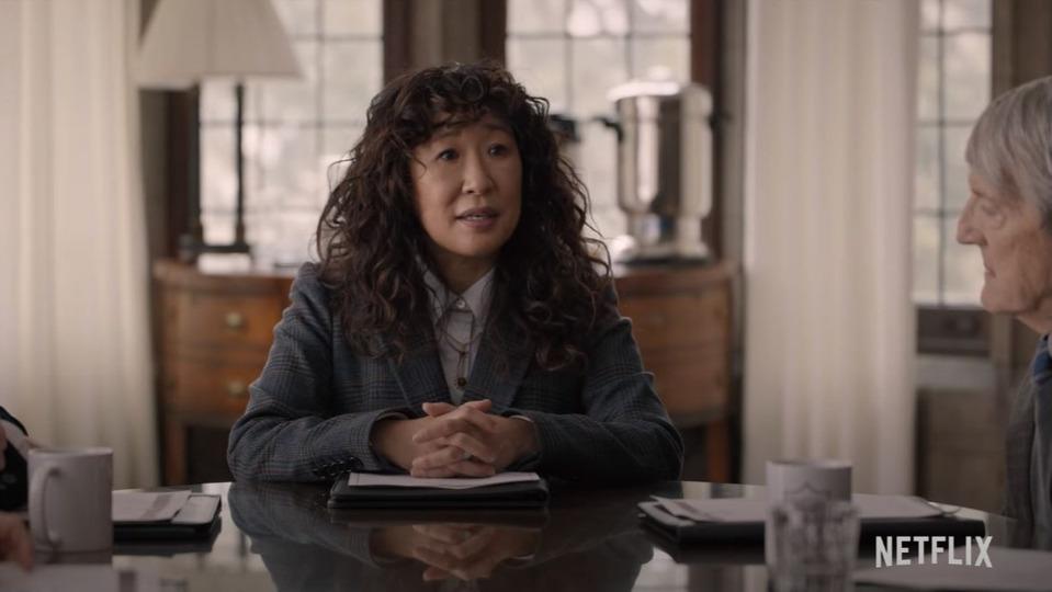 Netflix показал трейлер черной комедии The Chair сСандрой О