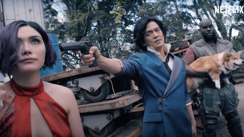 Усериала-адаптации «Ковбоя Бибопа» отNetflix появился первый трейлер