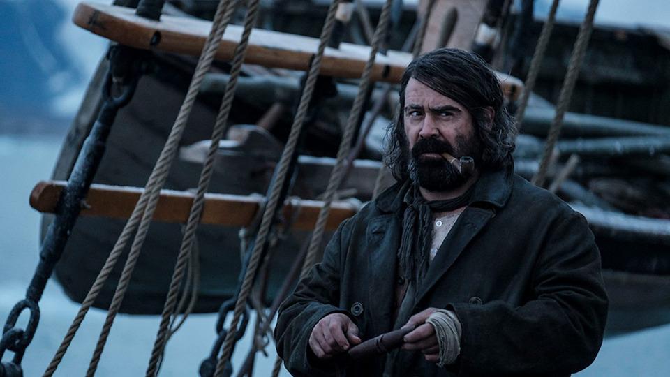 BBC показал первые кадры «Северных вод» сКолином Фарреллом