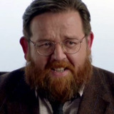 Nick Frost — Dr. Iain Glennis