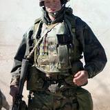 Stark Sands — Lt. Nathaniel Fick