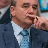 David Haig — Home Secretary Archie Glover-Morgan