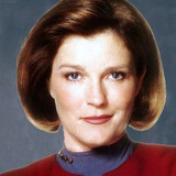 Kate Mulgrew — Captain Kathryn Janeway