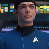 Ethan Peck — Science Officer Spock