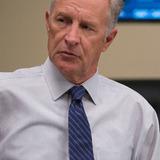 Geoff Pierson — Secretary of Defense Pierce Gray