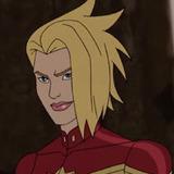 Grey Griffin — Captain Marvel