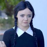 Melissa Hunter — Wednesday Addams
