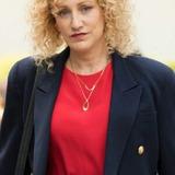 Edie Falco — Defense Attorney Leslie Abramson