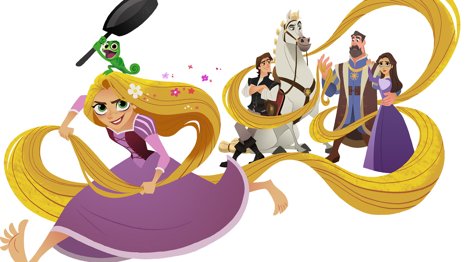 Show Rapunzel's Tangled Adventure
