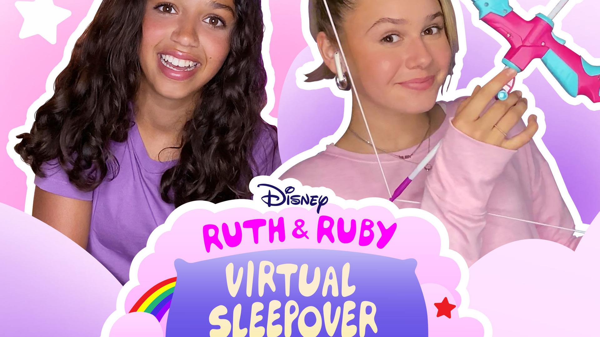 Сериал Ruth & Ruby Virtual Sleepover Challenges
