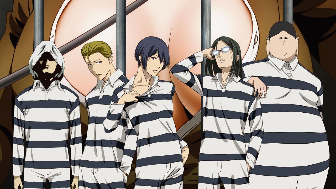 Аниме Школа-тюрьма