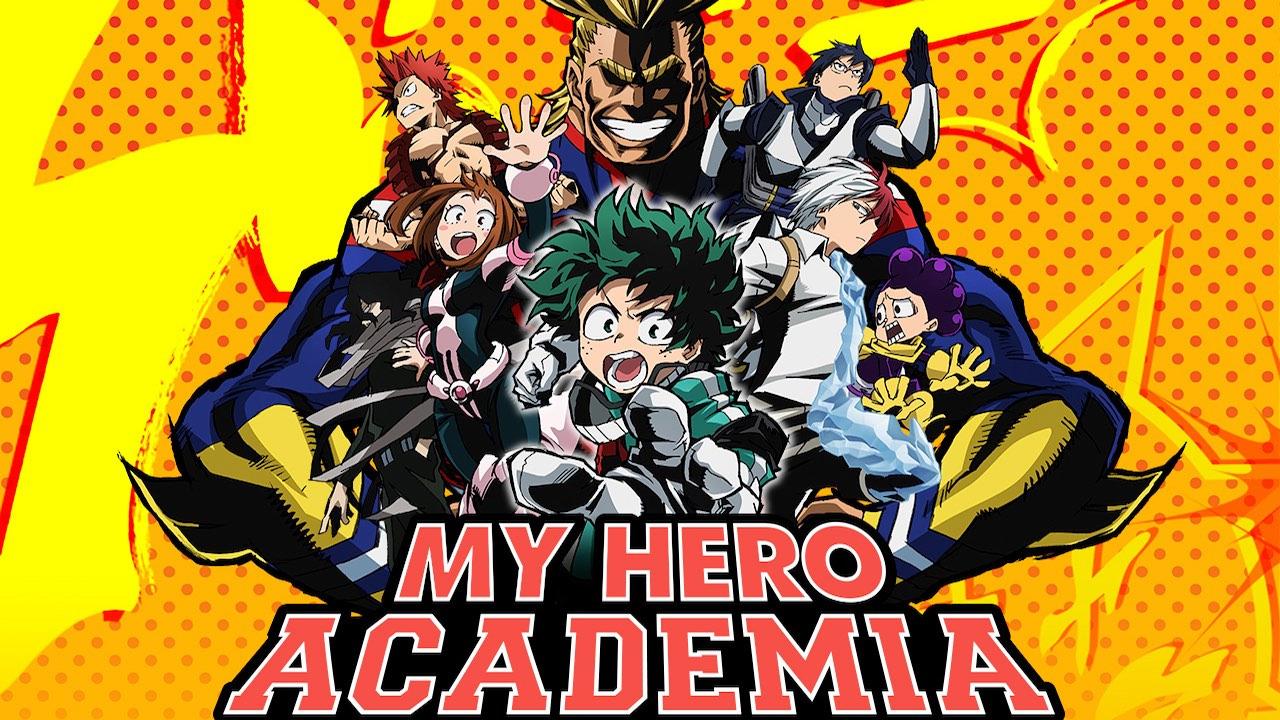 Аниме Моя геройская академия