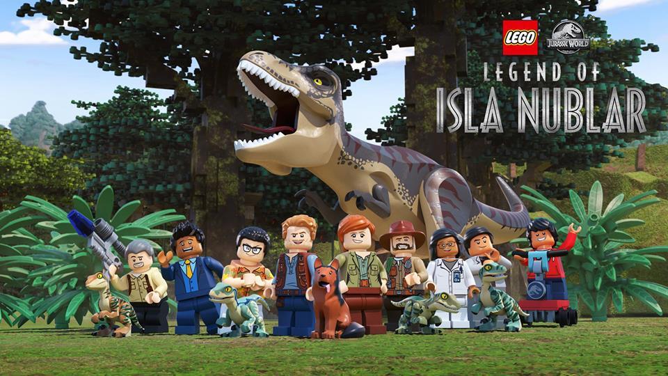 Сериал LEGO Мир юрского периода: Легенда острова Нублар