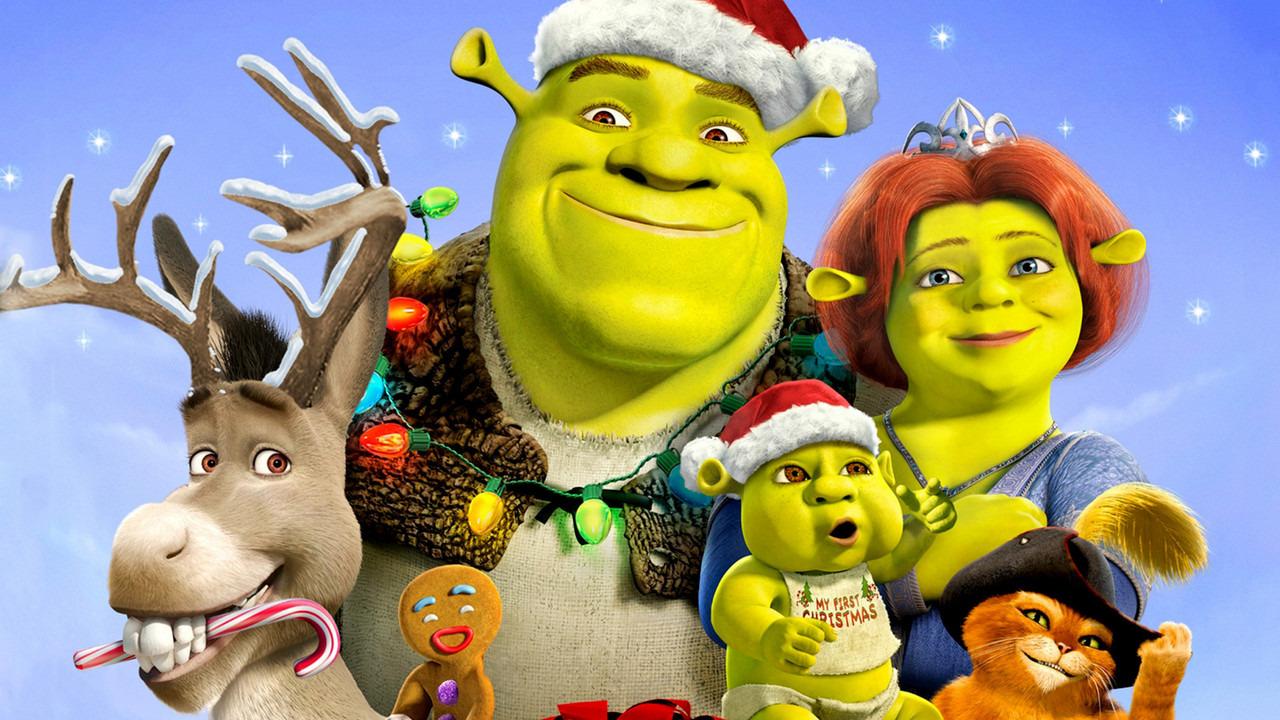 Cartoon Shrek The Halls