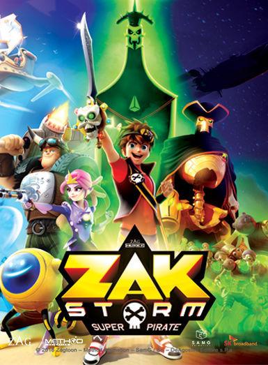 Show Zak Storm: Super Pirate
