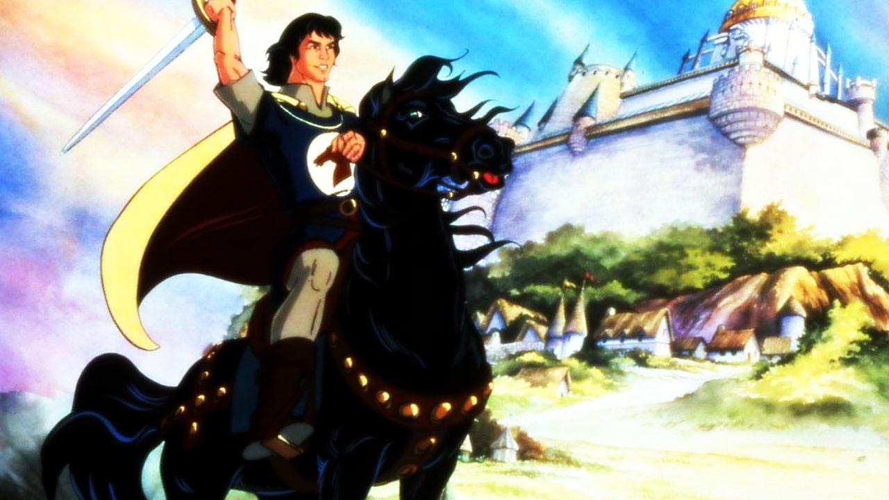 Cartoon Legend of Prince Valiant