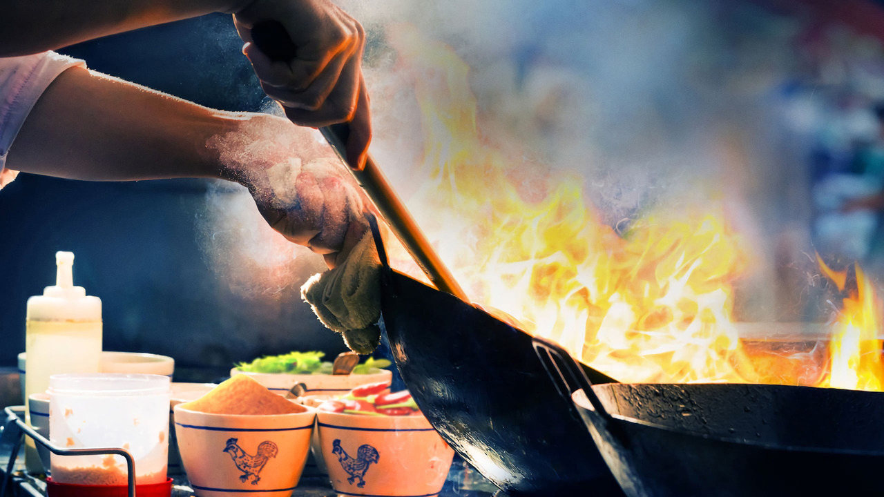 Сериал Уличная еда: Азия