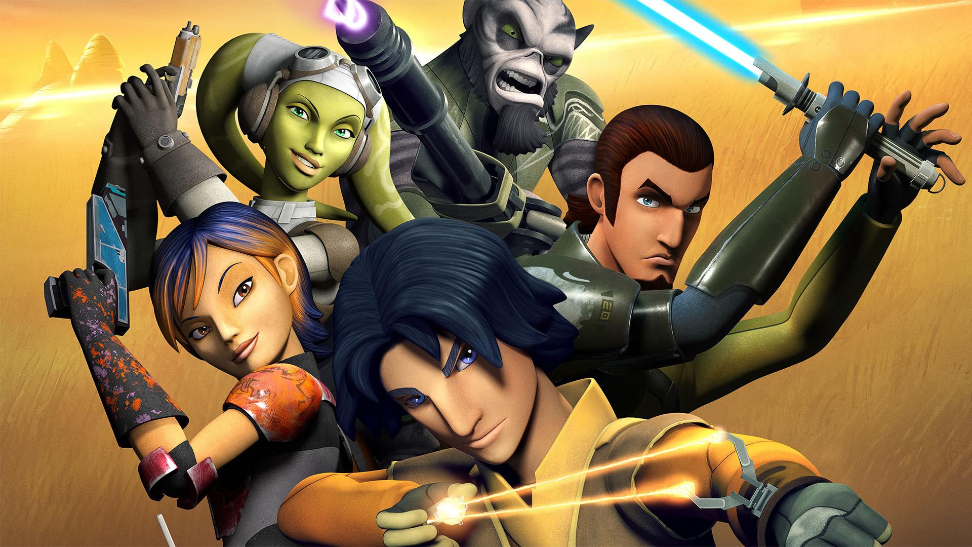 Cartoon Star Wars Rebels