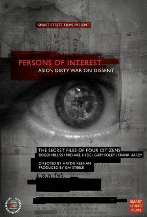 Show Persons of Interest - The ASIO Files