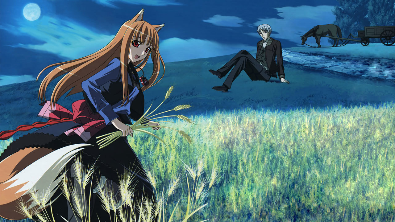 Anime Spice and Wolf