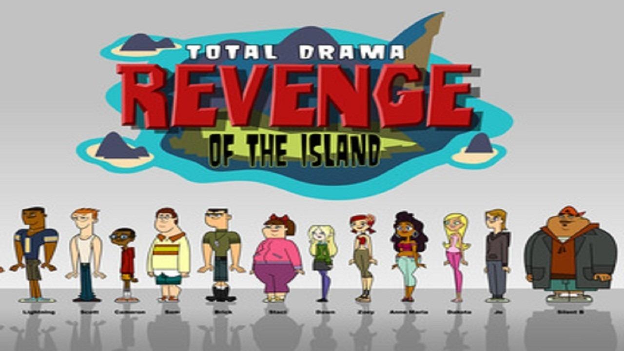 Cartoon Total Drama Revenge of the Island
