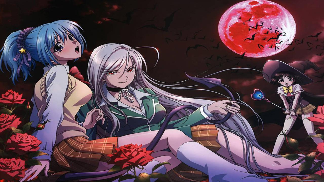 Anime Rosario + Vampire