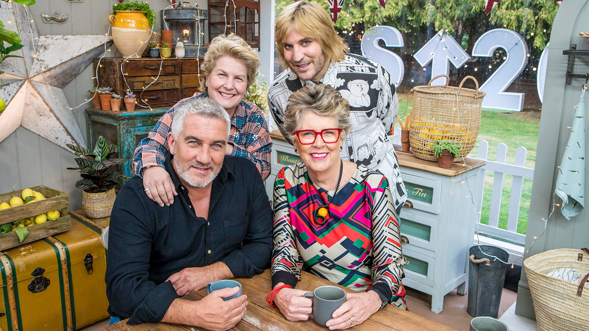 Show The Great Celebrity Bake Off for SU2C