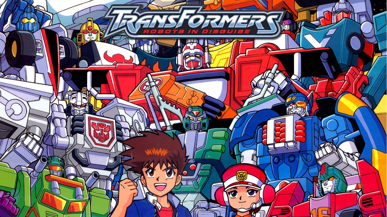 Anime Transformers Robots In Disguise
