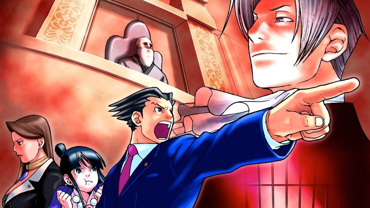 Anime Phoenix Wright: Ace Attorney