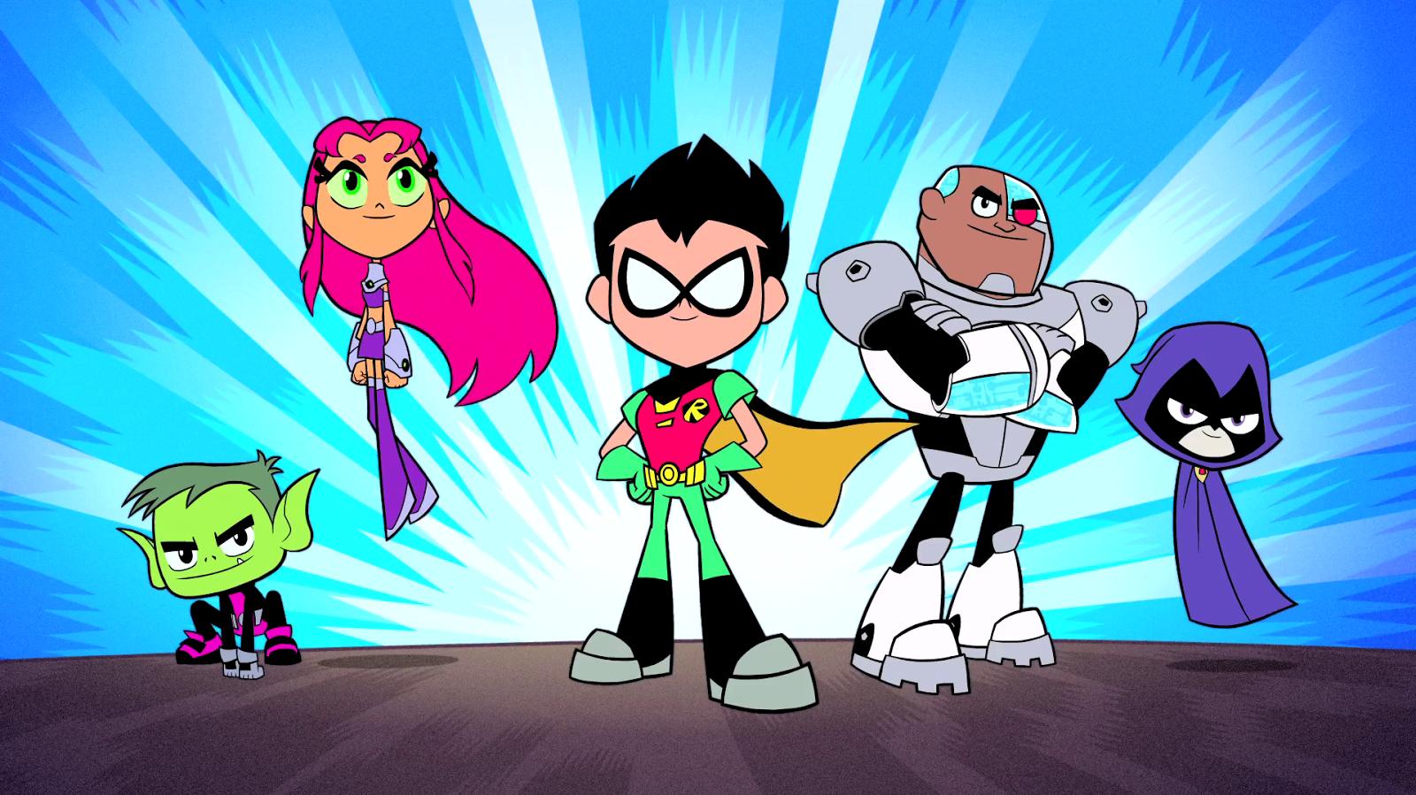 Show Teen Titans Go!