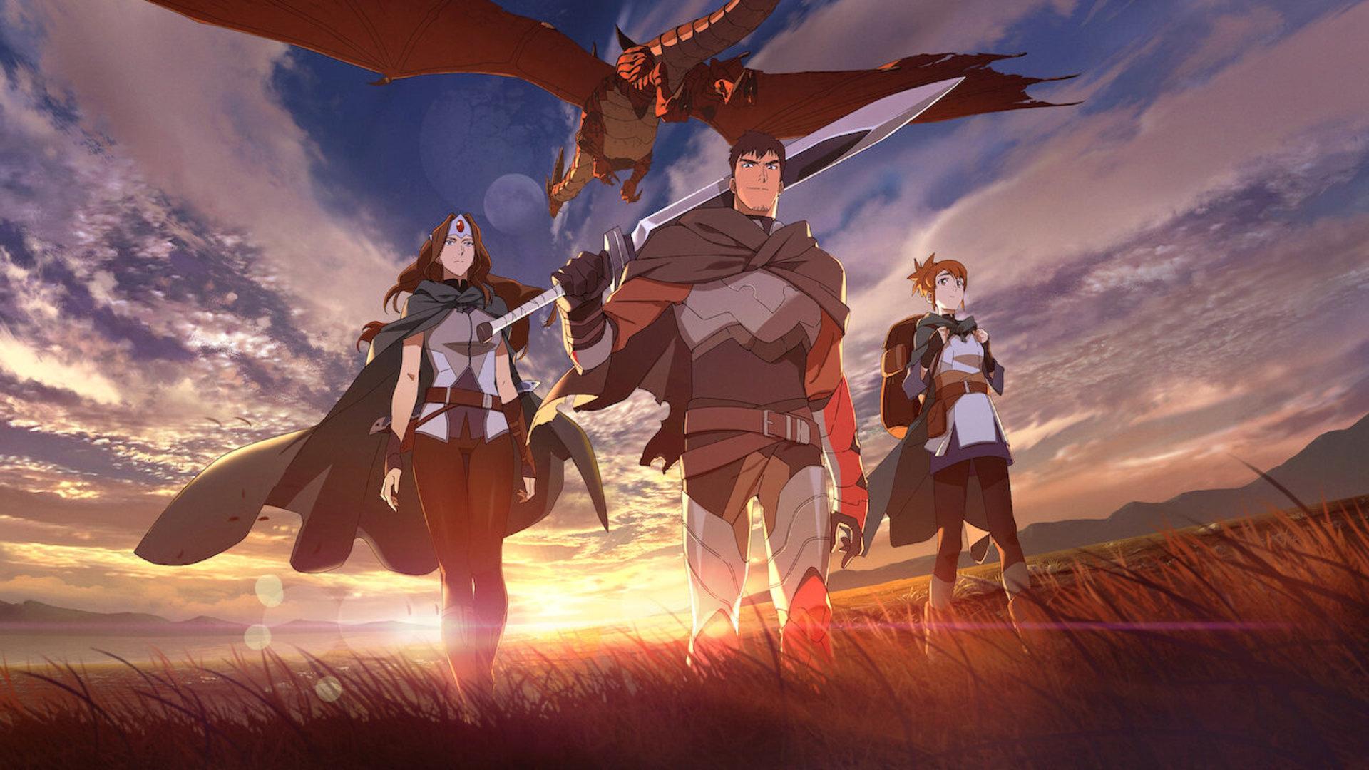 Anime DOTA: Dragon's Blood