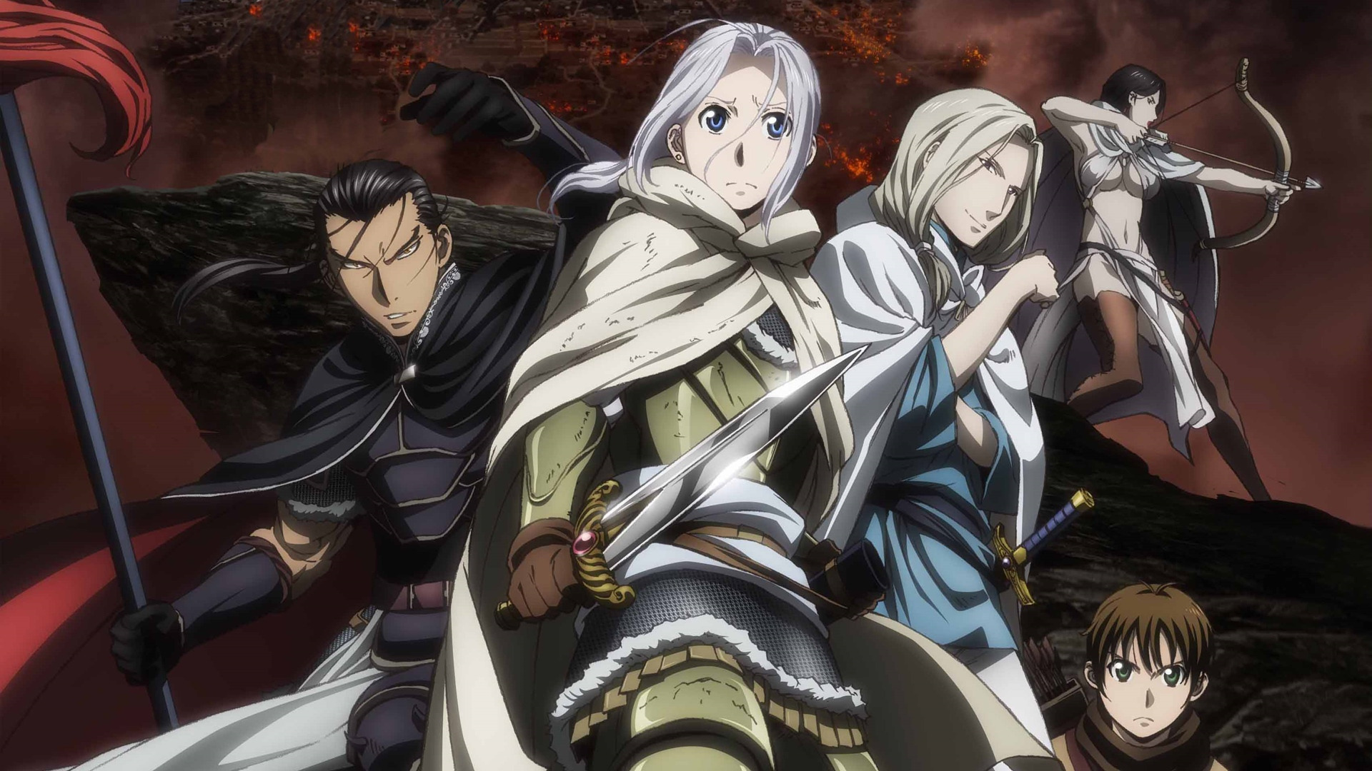 Anime The Heroic Legend of Arslan
