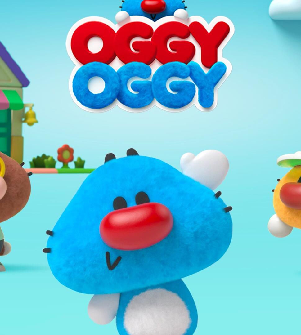 Сериал Oggy Oggy