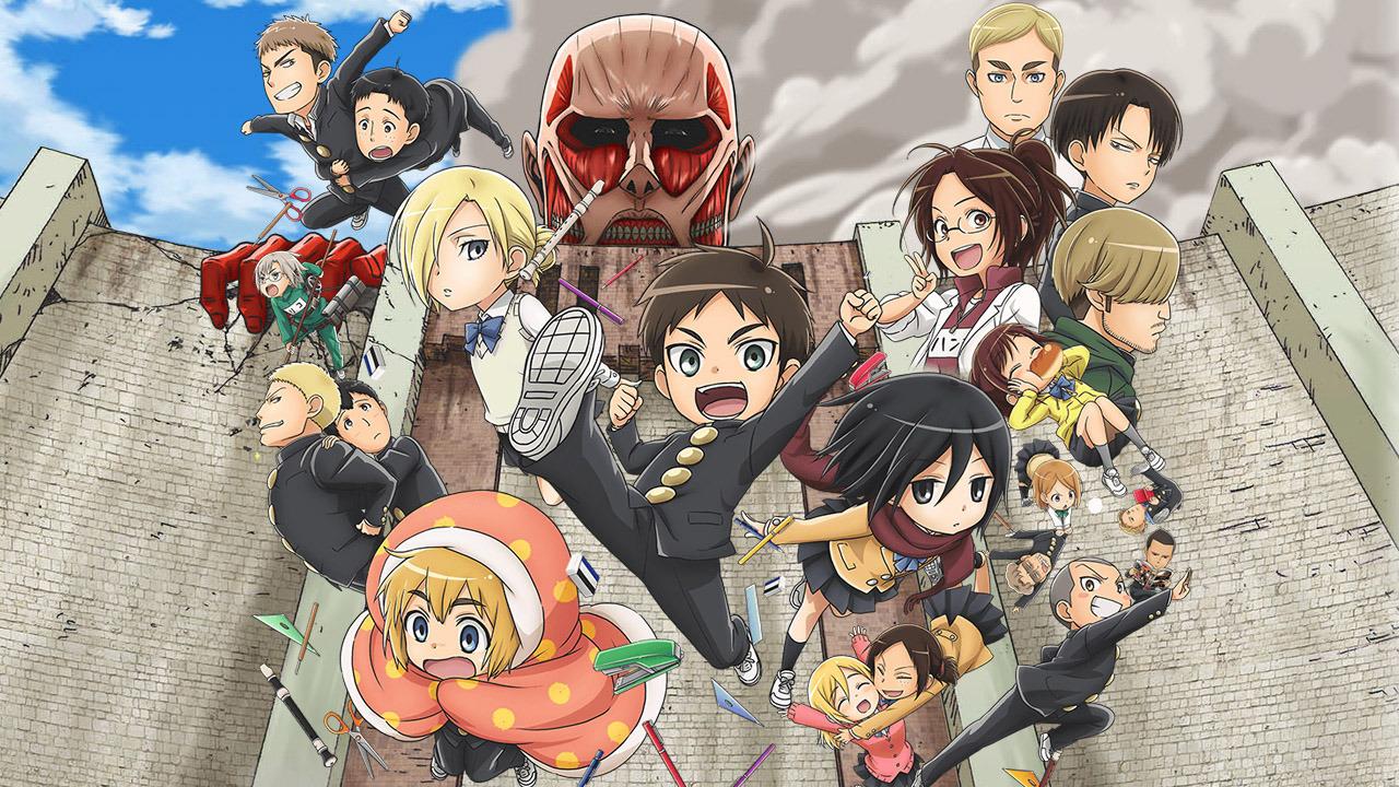 Anime Shingeki! Kyojin Chuugakkou