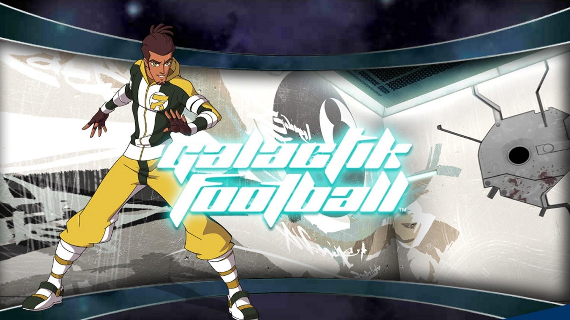 Cartoon Galactik football