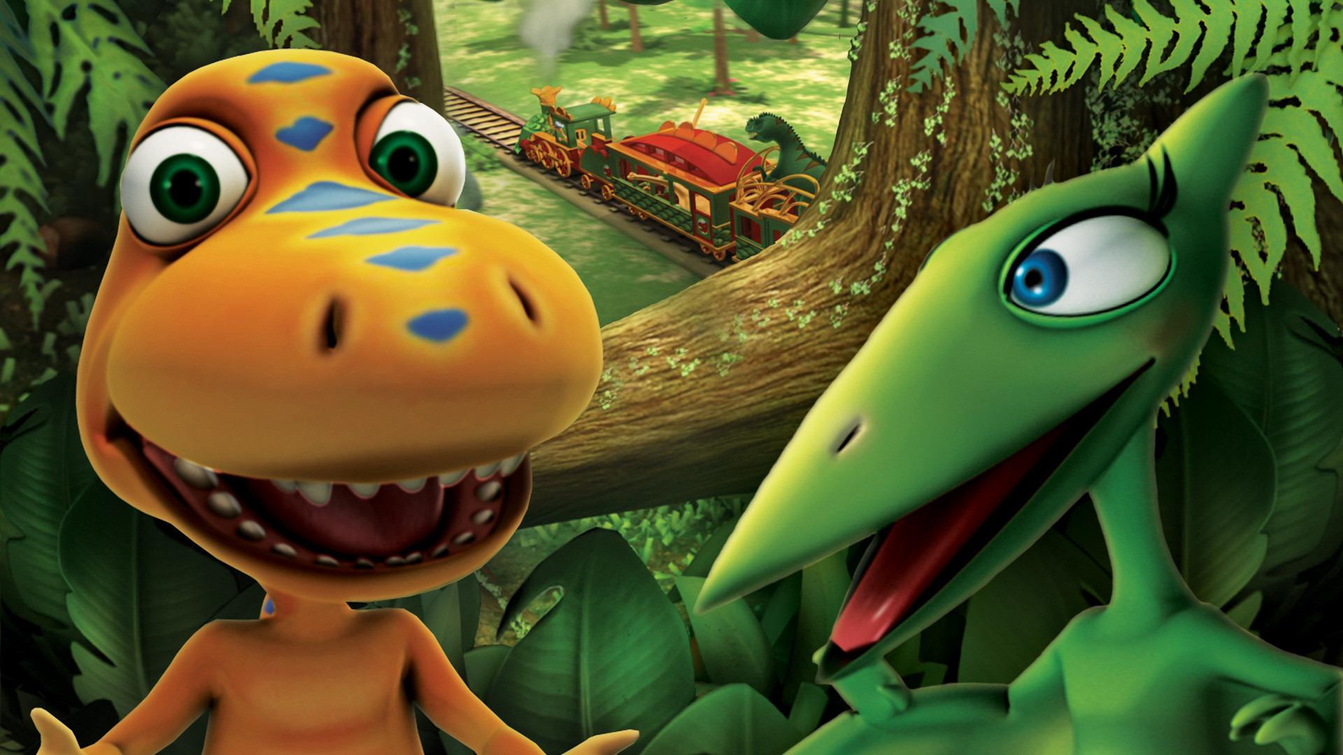 Сериал Поезд динозавров