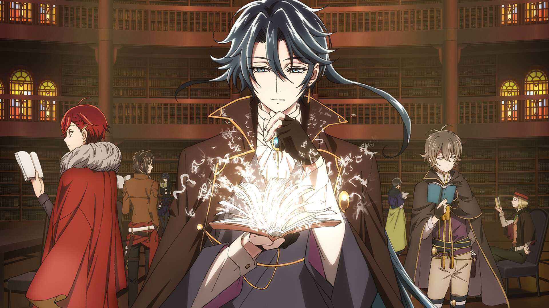 Anime Bungou to Alchemist: Shinpan no Haguruma