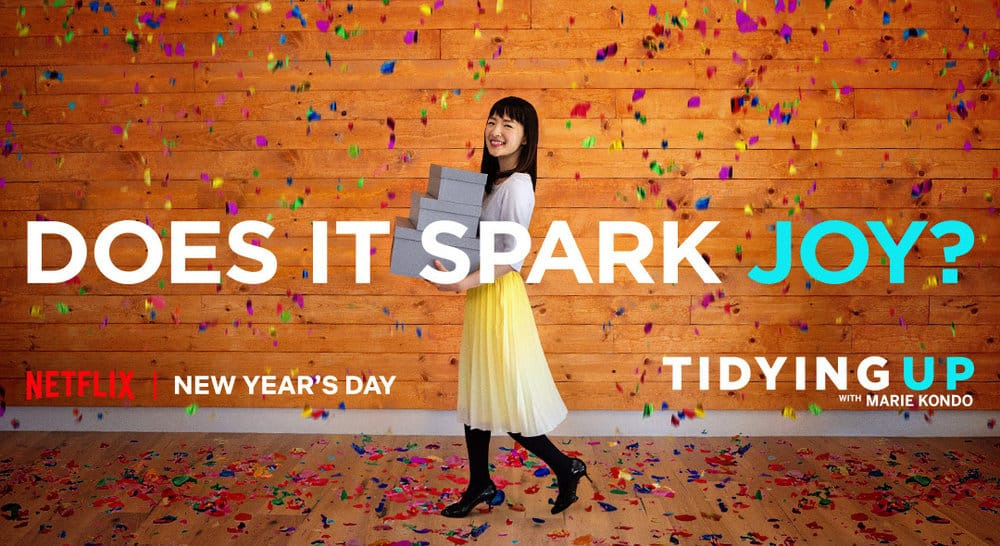 Show Tidying Up with Marie Kondo