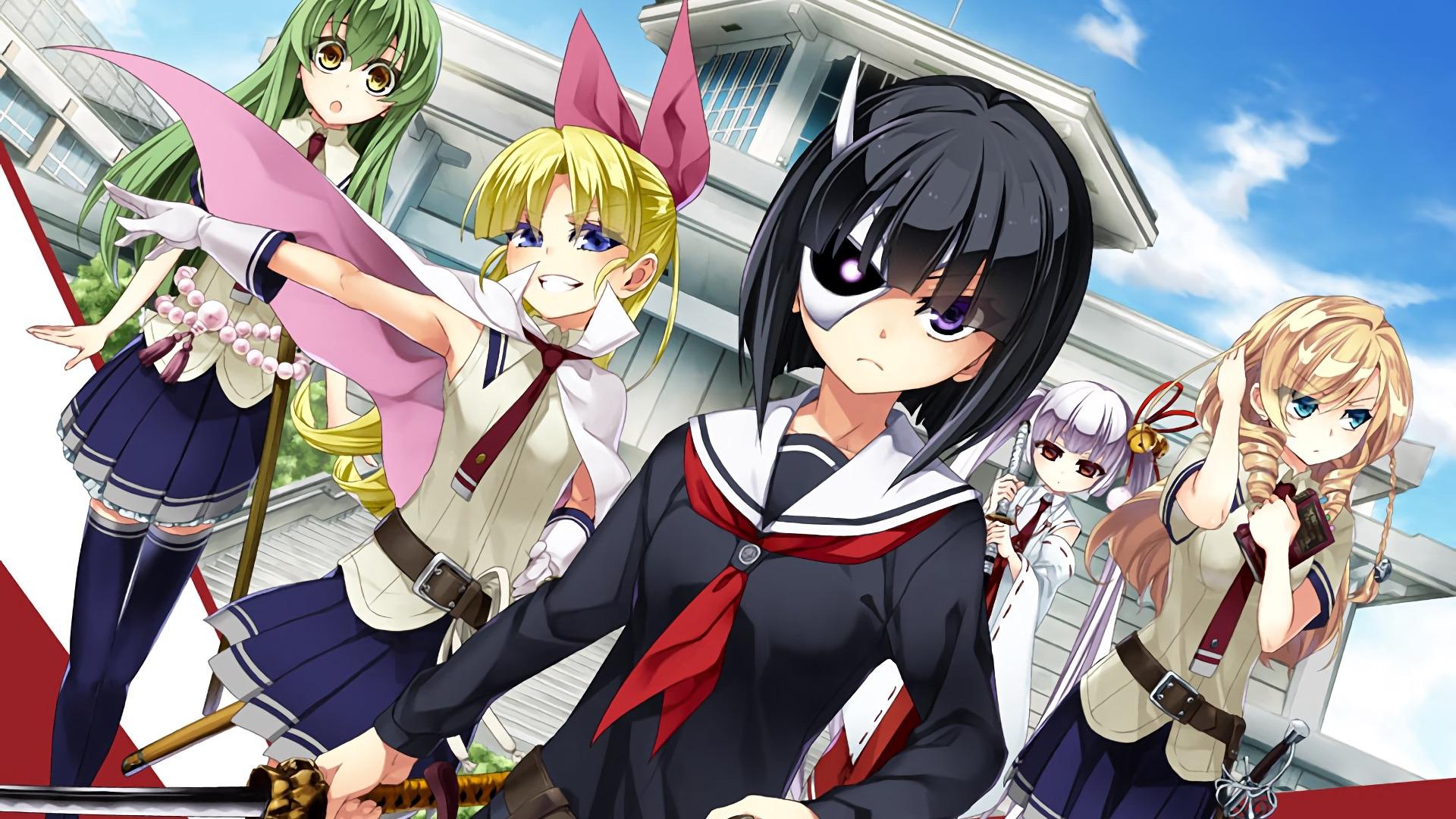 Anime Armed Girl's Machiavellism