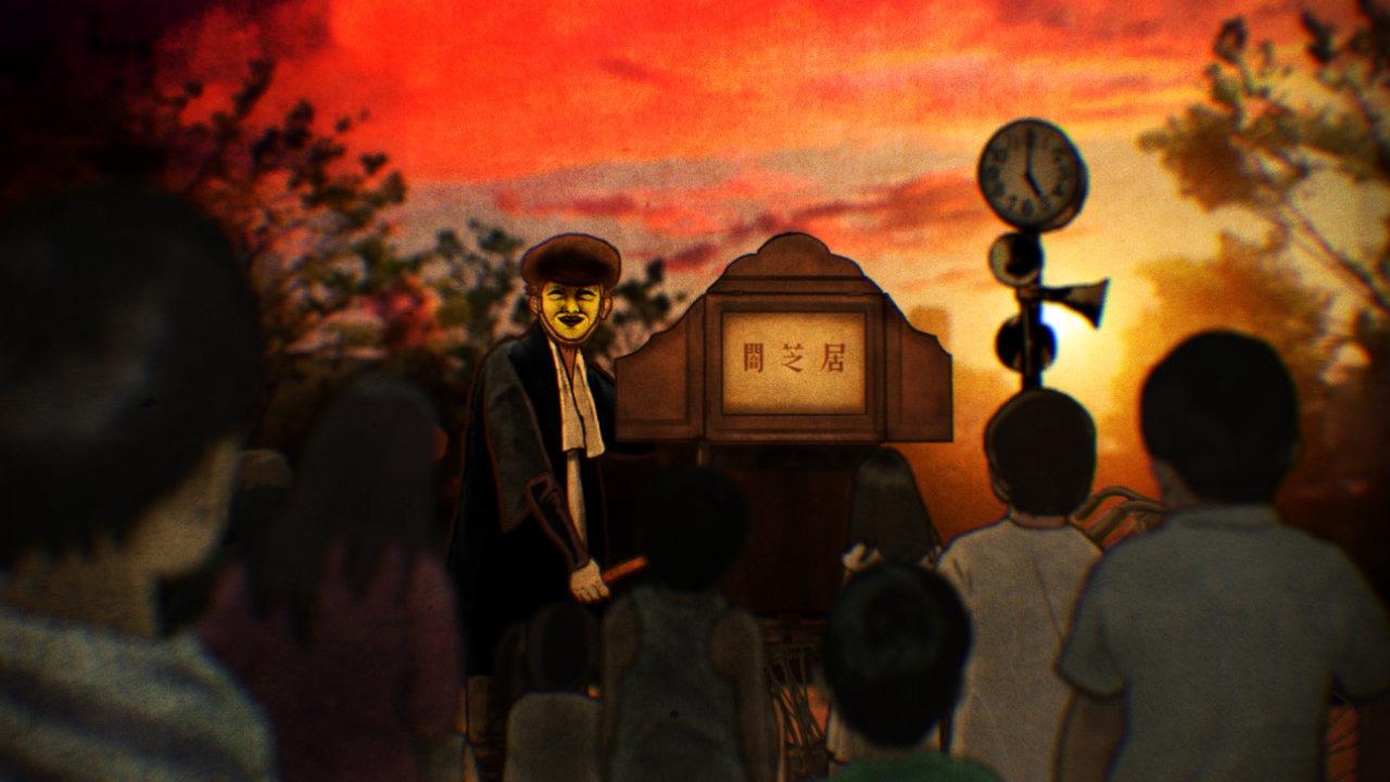 Аниме Ями Шибаи: Японские рассказы о привидениях