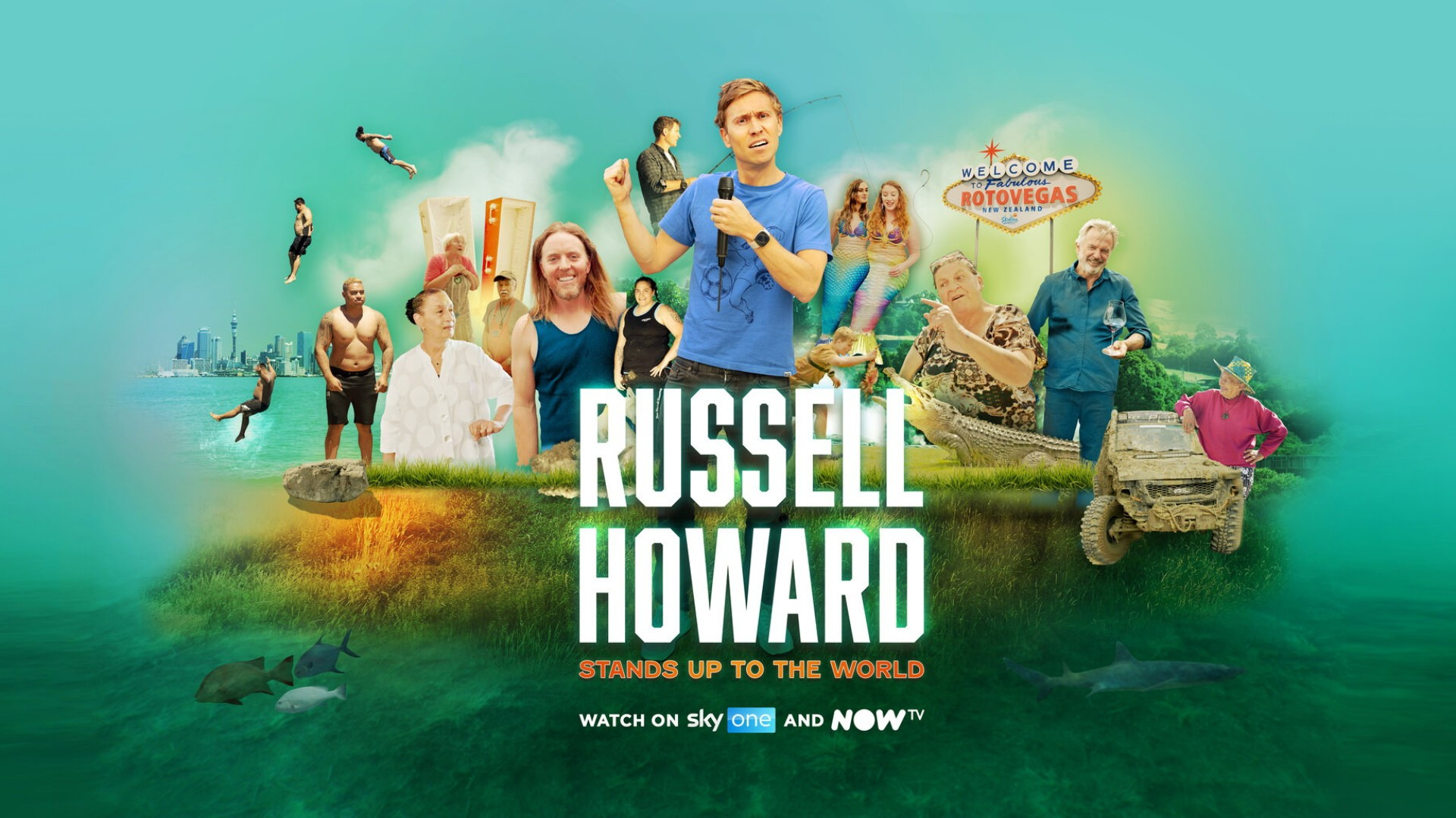Show Russell Howard Stands Up to the World