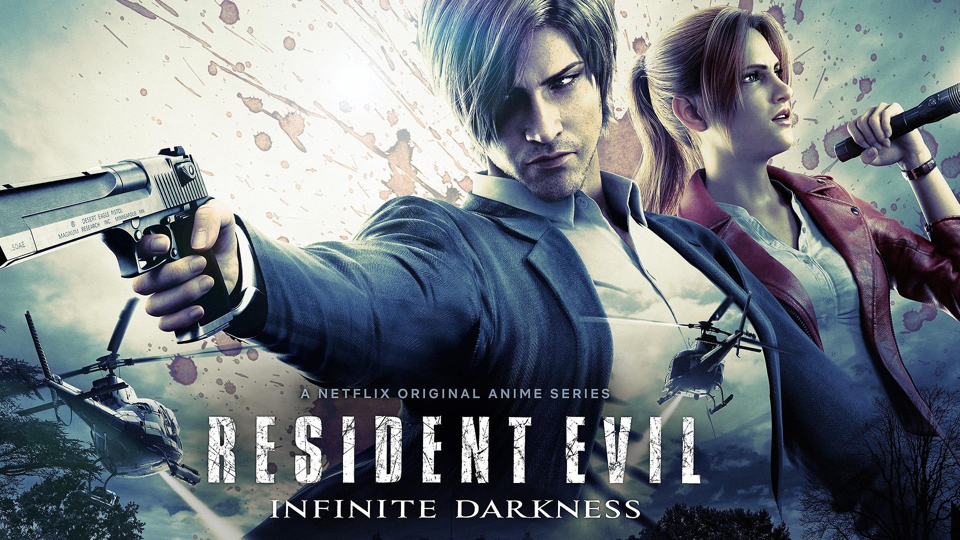 Anime RESIDENT EVIL: Infinite Darkness