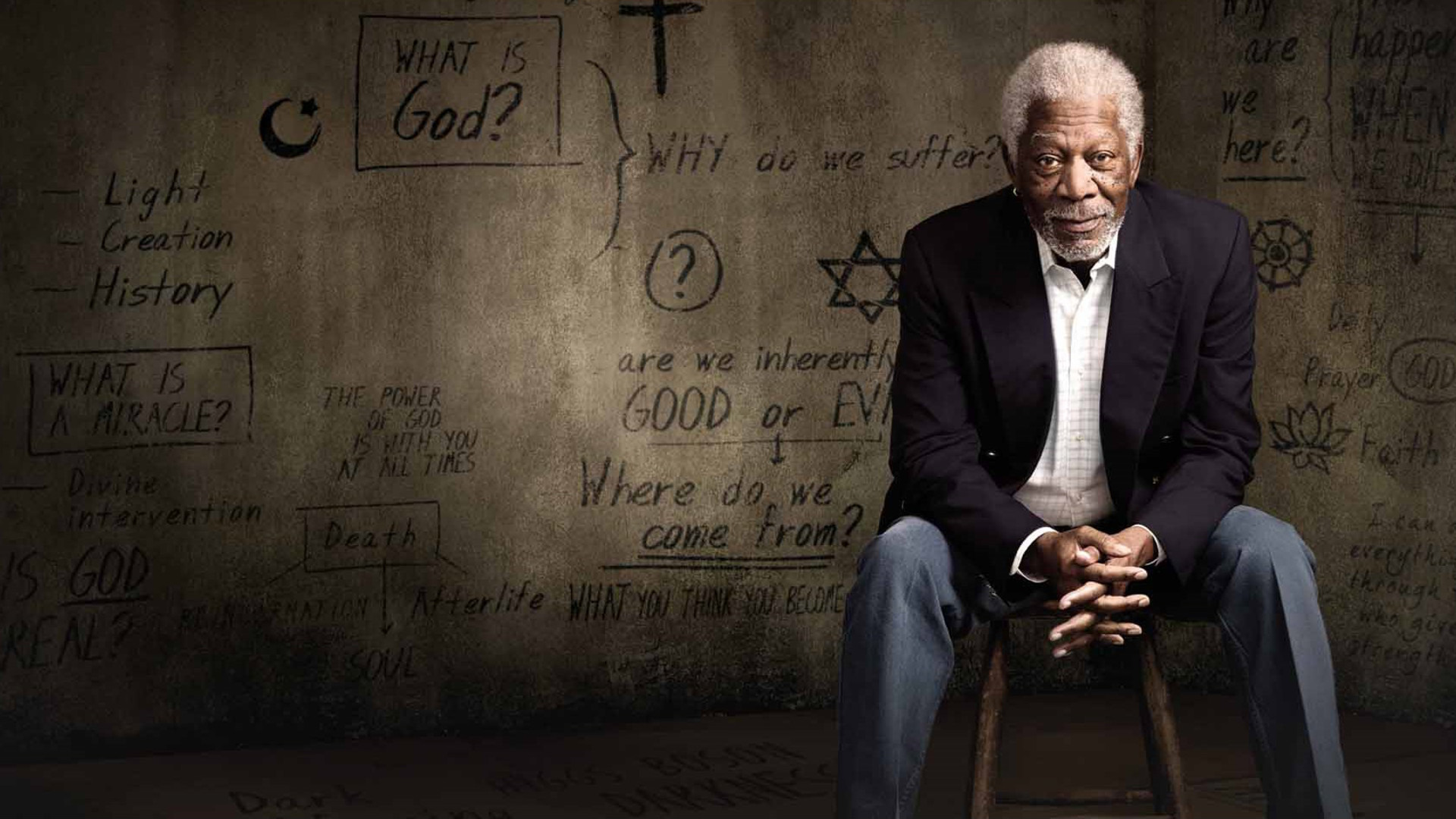 Show The Story of God with Morgan Freeman