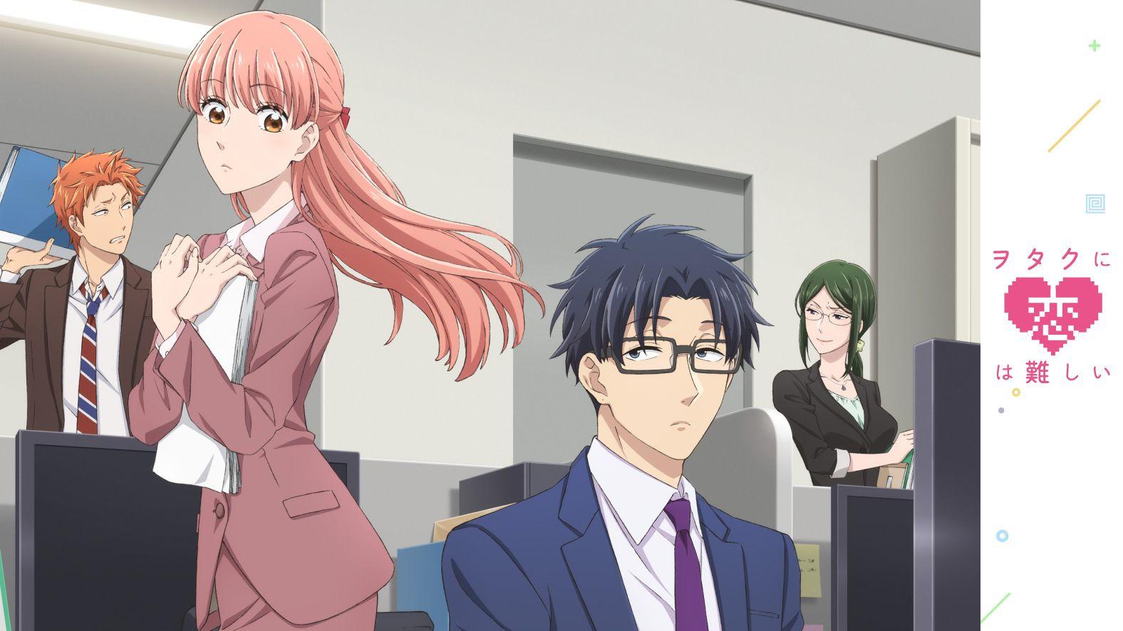 Anime Так сложно любить отаку