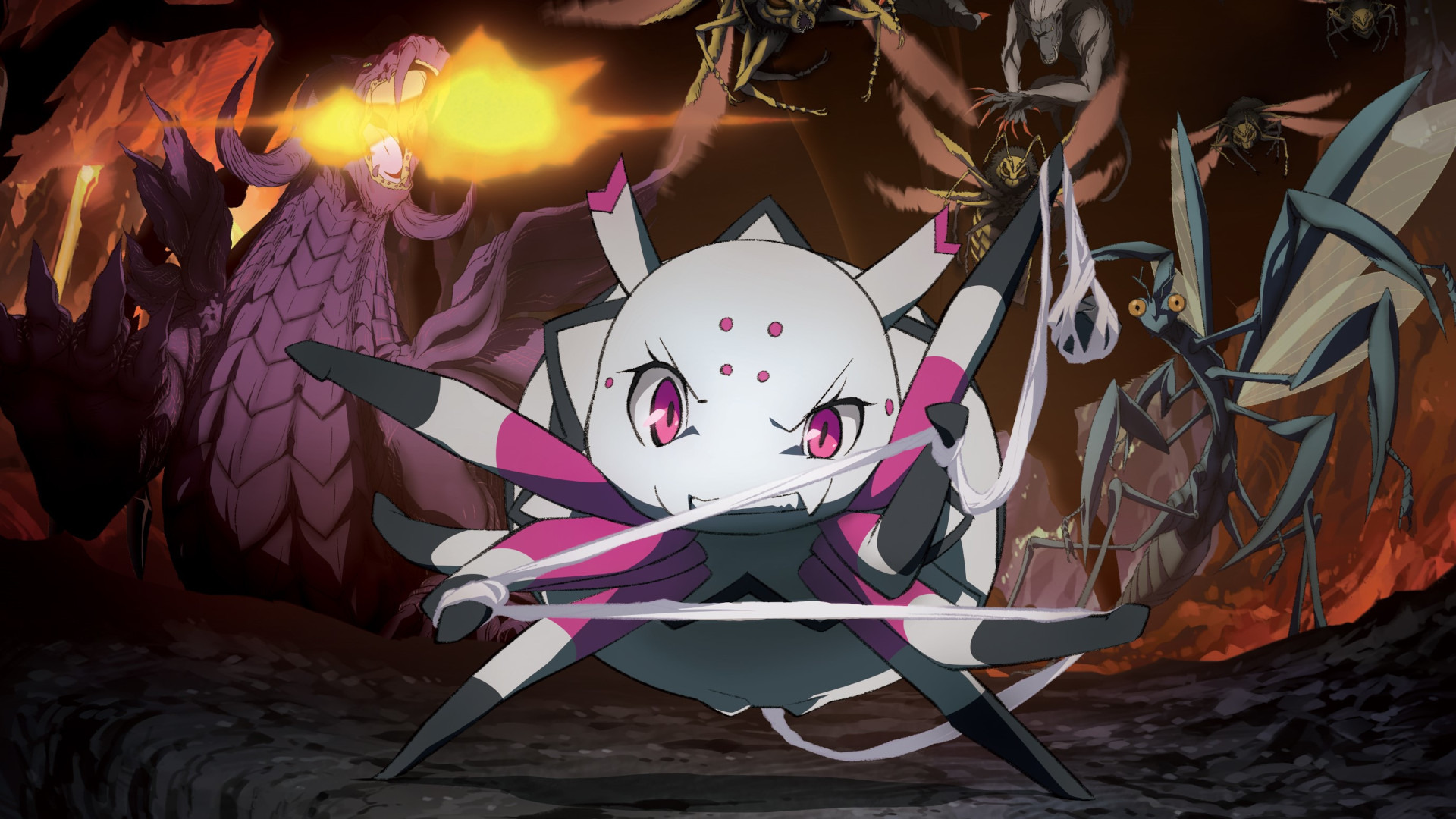 Anime So I'm a Spider, So What?