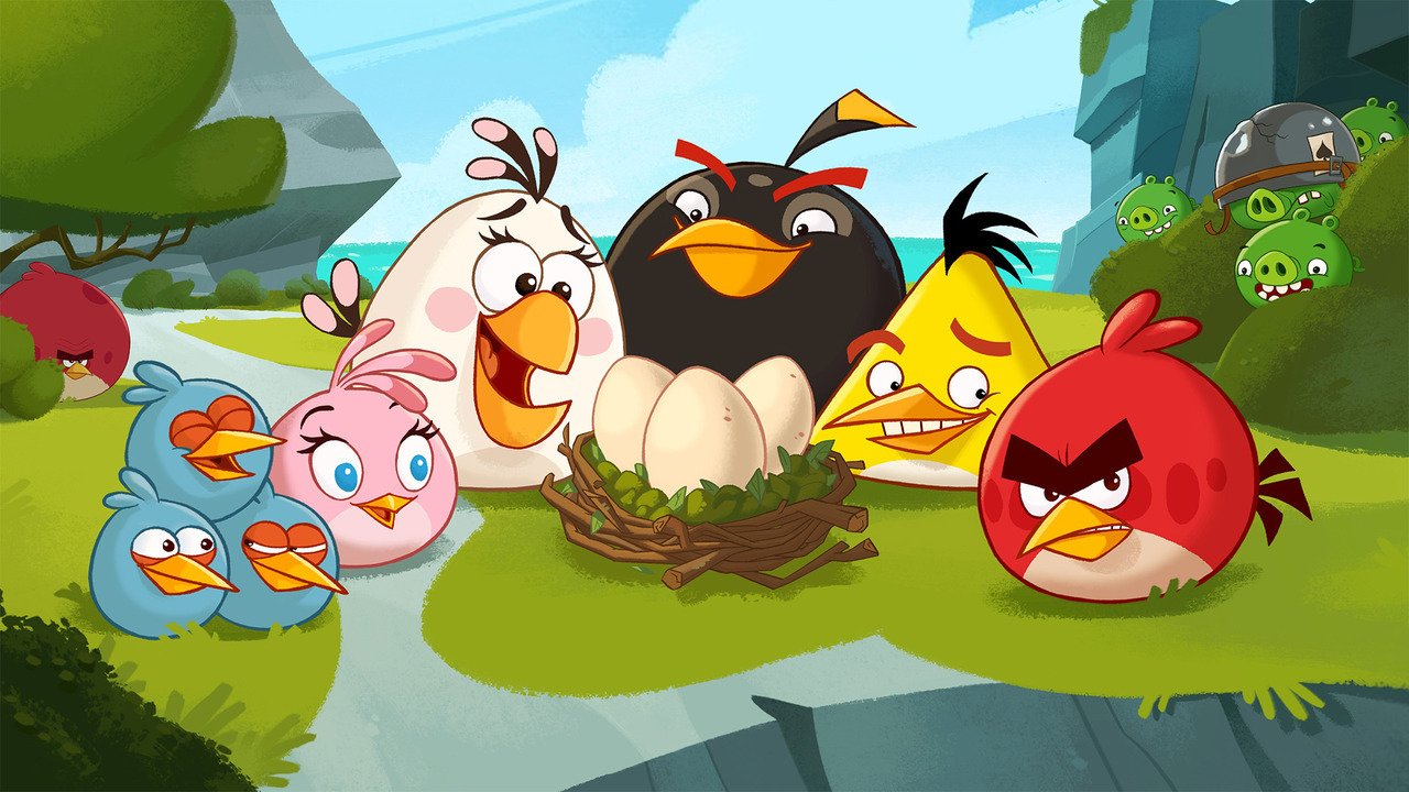 Show Angry Birds Toons