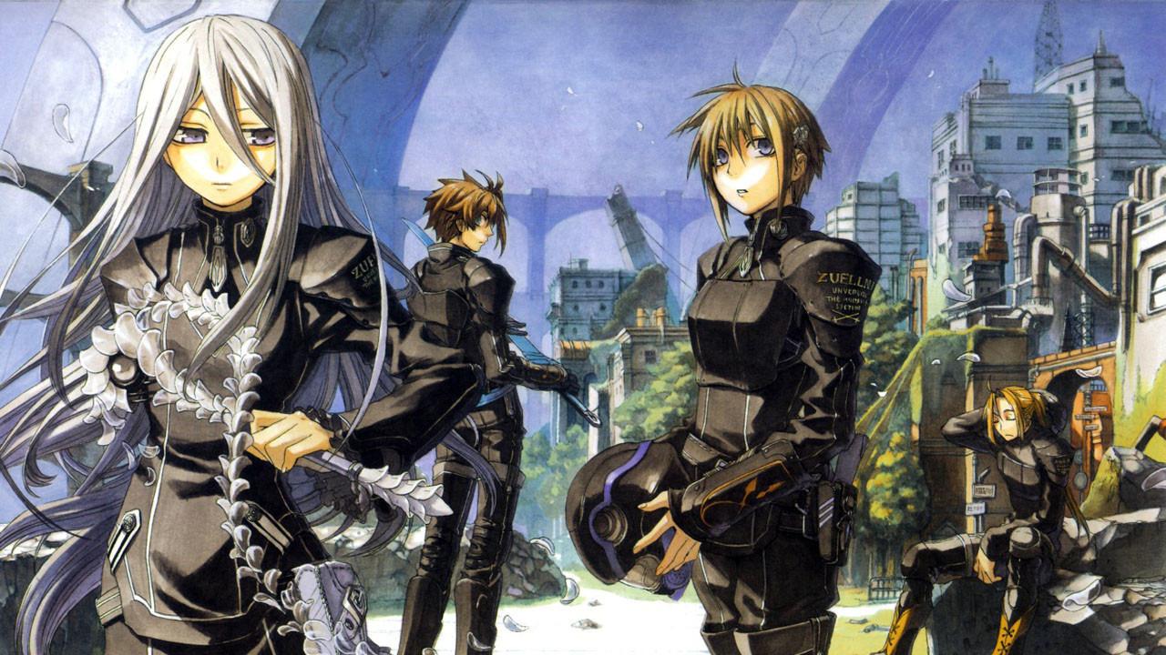 Anime Chrome Shelled Regios
