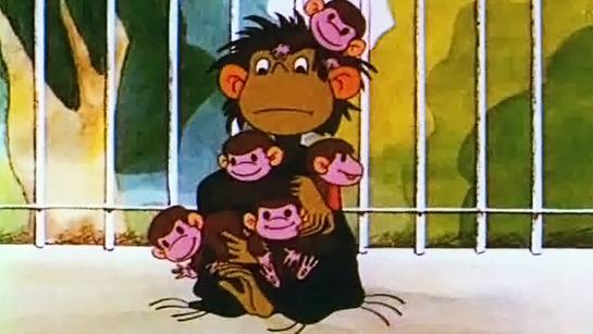 Мультсериал Осторожно, обезьянки