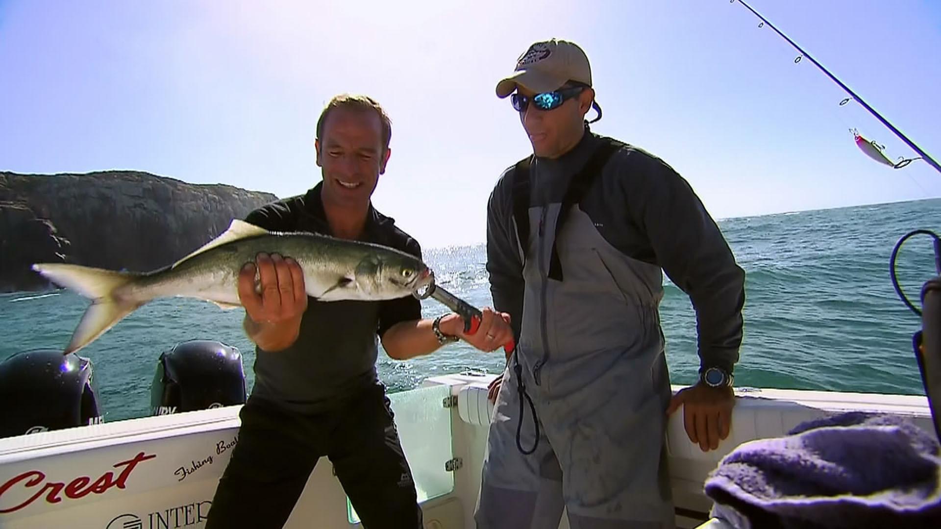 Сериал Robson's Extreme Fishing Challenge