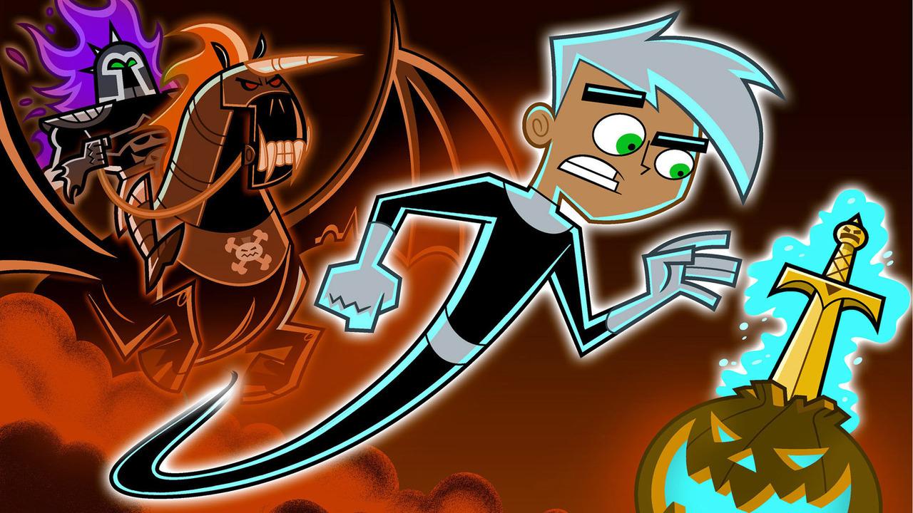 Cartoon Дэнни-призрак